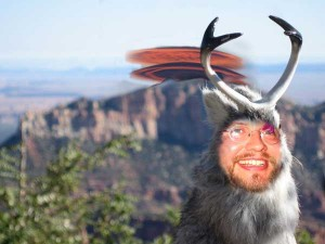 Sean as Jackelope